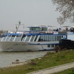Cruise boat on the Danube